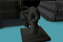 Zybez RuneScape Help's Screenshot of the Headless Statue