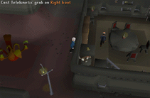 Zybez RuneScape Help's Screenshot of the Right Boot