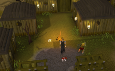 Zybez RuneScape Help's Screenshot of the Goblin Village
