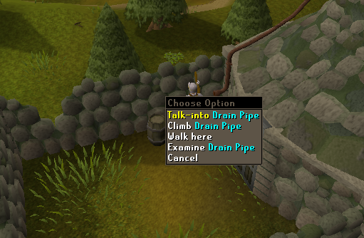 Zybez RuneScape Help's Screenshot of the Beard to Climb