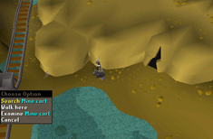 Zybez RuneScape Help's Screenshot of a Mine Cart