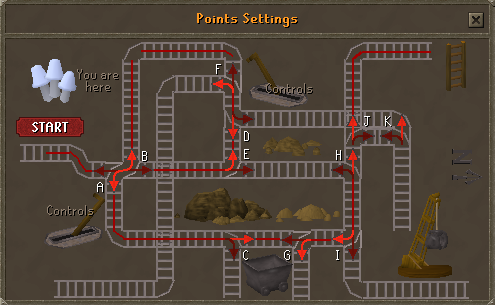 Zybez RuneScape Help's Screenshot of the Controls