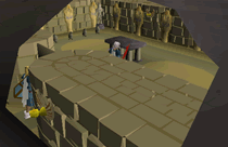 Zybez RuneScape Help's Image of Entering the Chamber