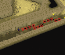 Zybez RuneScape Help's Image of the Path to Take
