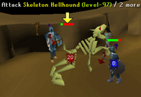 Zybez RuneScape Help's Image of the Skeleton Hellhound