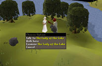 Zybez RuneScape Help's Image of Lady of the Lake