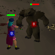 Zybez RuneScape Help's Screenshot of Attacking Kendal
