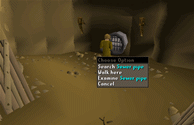 Zybez RuneScape Help's Screenshot of the Sewer Pipe under West Ardougne