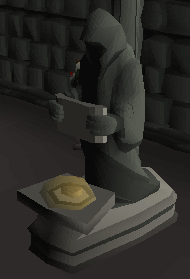 Zybez RuneScape Help's Screenshot of the Shrine to Saradomin in the Mausoleum