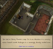 Zybez RuneScape Help's Screenshot of Being Told to Clear Warehouse