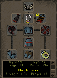 Zybez RuneScape Help's Screenshot of What to Wear