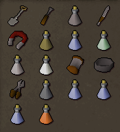 Zybez RuneScape Help's Screenshot of the Items from the room