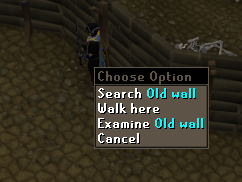 Zybez RuneScape Help's Screenshot of the Odd Wall