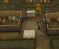 Zybez RuneScape Help's Screenshot of Inside the Castle