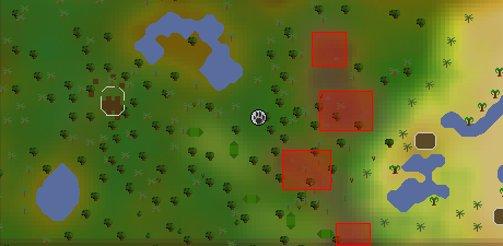 Zybez RuneScape Help's Image of the Barbtailed Kebbit Hunting Area