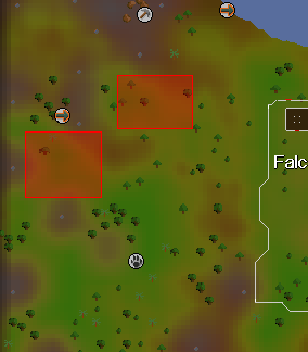 Zybez RuneScape Help's Image of the Chinchompa Hunting Area