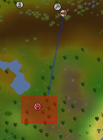 Zybez RuneScape Help's Image of the Red Chinchompa Hunting Area
