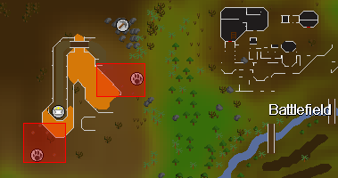 Zybez RuneScape Help's Image of the Red Salamander Hunting Area