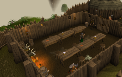 Zybez RuneScape Help's Screenshot of Barbarians in the Bar